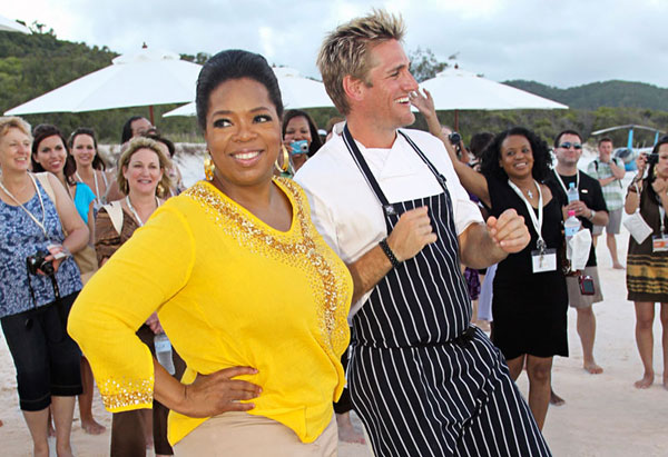 Oprah and Curtis Stone