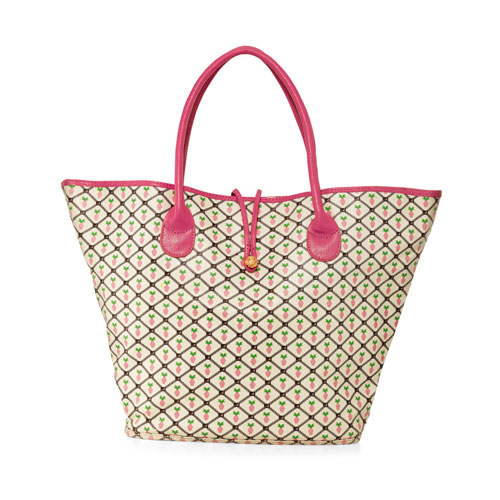 Anabelle by Marcia Sherrill Pineapple Print Tote