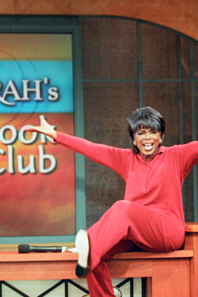Oprah announces the first Oprah's Book Club selection