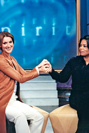 Oprah and Celine Dion