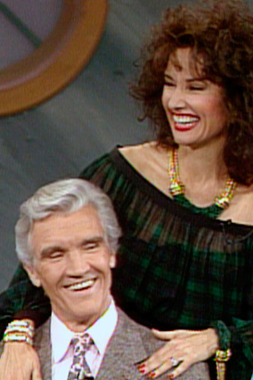 Susan Lucci with one of her TV husbands