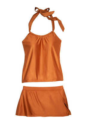 Swankini two-piece swimsuit