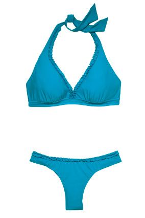 Aerin Rose triangle bikini