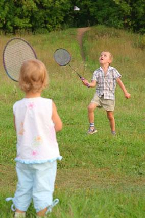 Consider Badminton