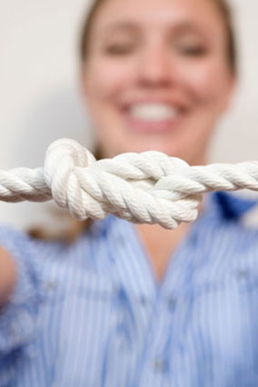 Learn to Tie Knots
