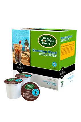 Green Mountain Coffee Nantucket Blend iced coffee K-Cups