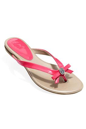 Ivanka Trump salmon sandal