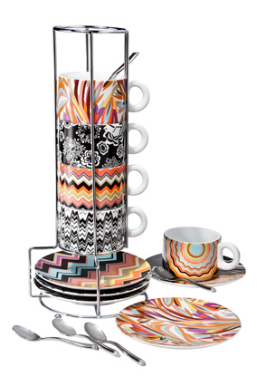 Missoni for Target espresso set