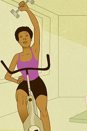 SoulCycle illustration