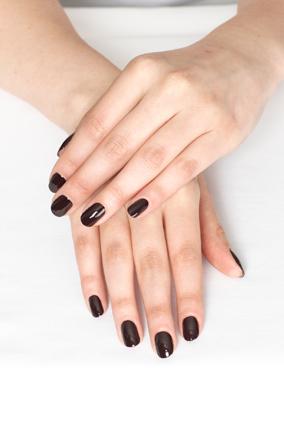 manicure after shot