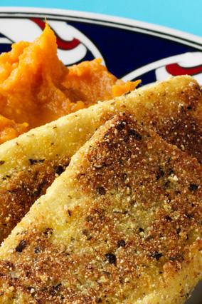 Tofu and Sweet Potatoes