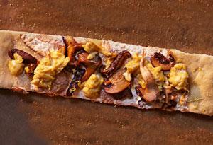Mushroom Mozzarella Pizza