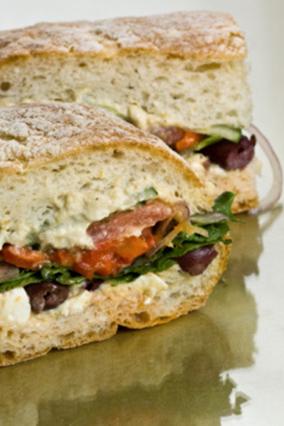 Sandwich not soggy