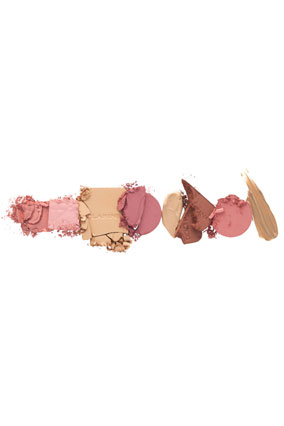 foundation and blush shades
