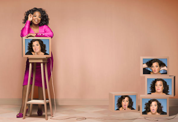 Oprah and Rosie