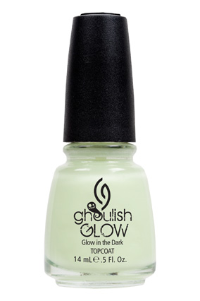 Glow-in-the-dark nail polish