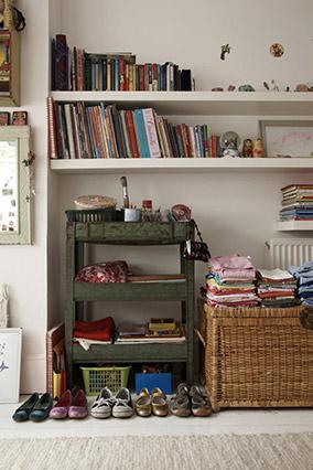 Organized child's room