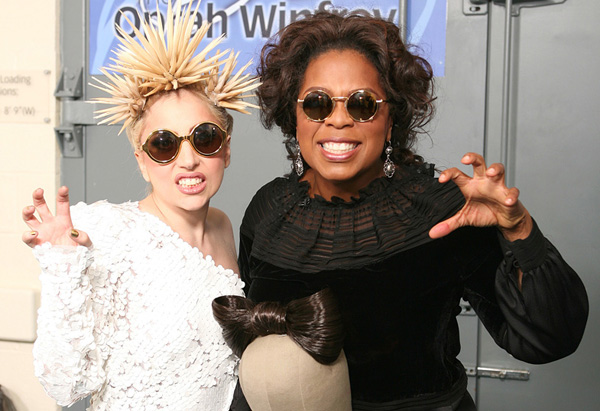 Oprah and Lady Gaga