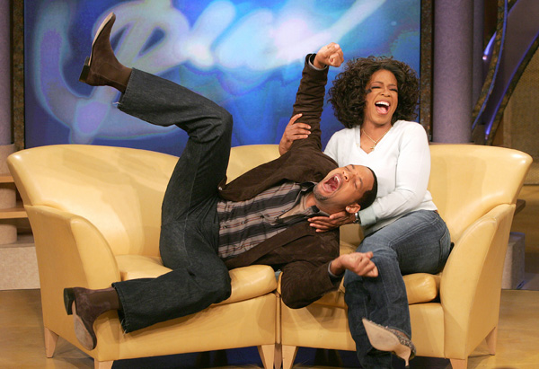 Will Smith and Oprah