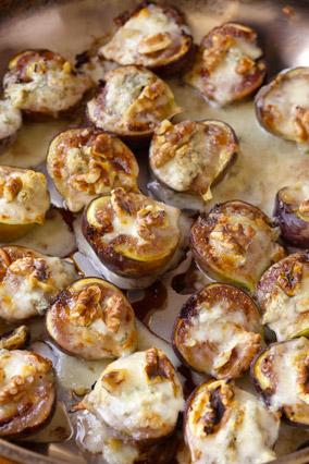 Gorgonzola-Stuffed Figs