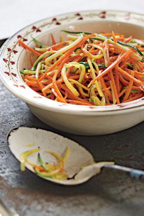 Sauteed Shredded Vegetables