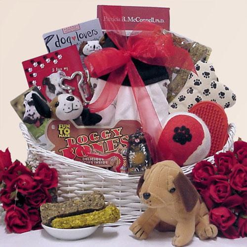 Pet gift basket