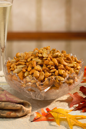 Mixed or assorted nuts
