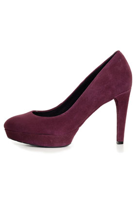 Rockport purple suede pumps