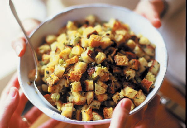 Thanksgiving Recipes - Stuffing - Gravy - Biscuits - Rolls