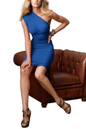 Blue Victoria's Secret dress