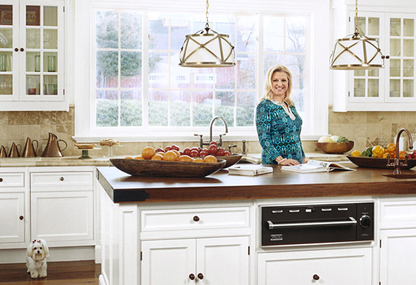 Mindy Grossman in kitchen
