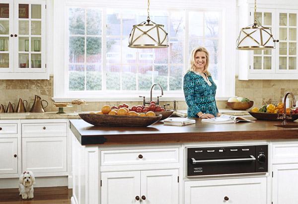 Mindy Grossman in kitchen