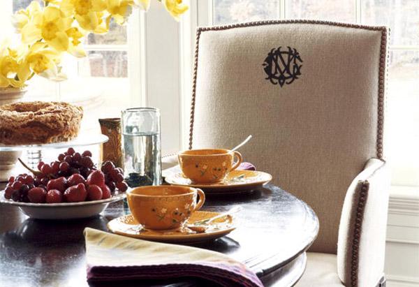 Chair in breakfast room