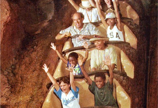 The Williams and Cooper clans at Disney World