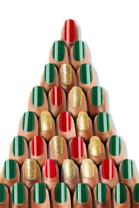 festive nail polishes