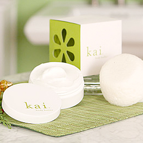 Kai Body Butter and Body Buffer