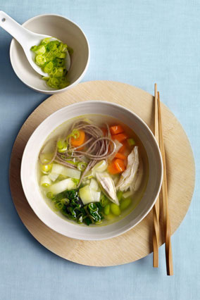 Miso Noodle Soup with Chicken