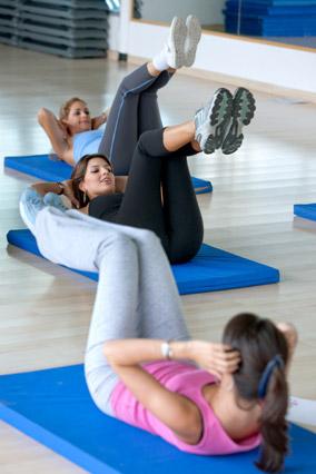Gym abdominal class
