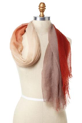 scarf step 1