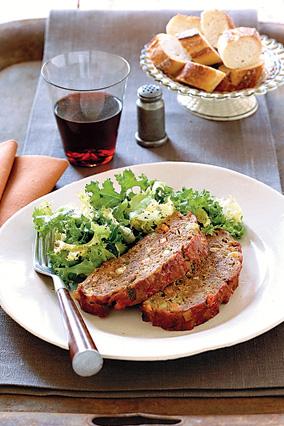 Cardamom-Spiced Meat Loaf