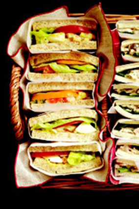 Shrimp and Deviled-Egg Salad Sandwiches