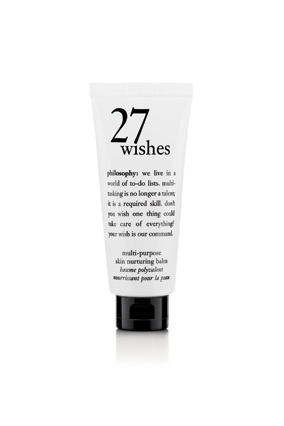 Philosophy 27 Wishes Skin Nurturing Balm
