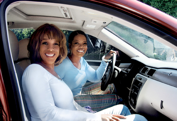 Oprah and Gayle King's road trip