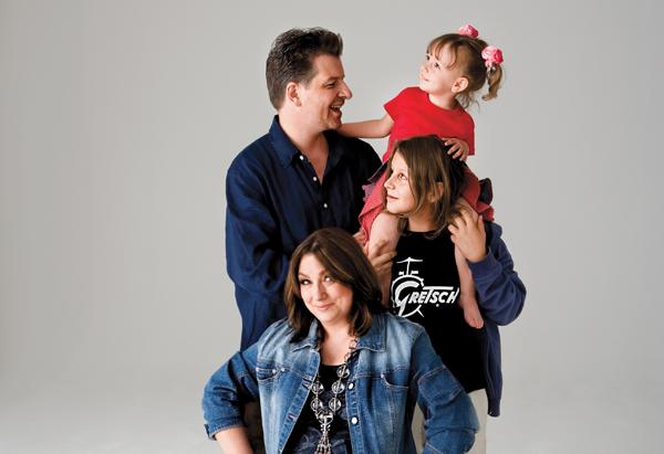 Lisa with Johannes, Jonathan and Julia Claire