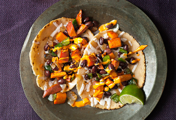 Chipotle Sweet Potato, Black Bean, And Guac Tacos Recipes — Dishmaps