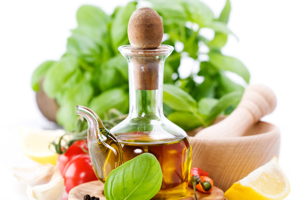 olive oil, vegetables, kitchen ingredients