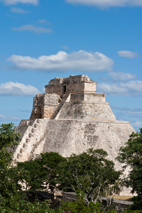 El Castillo pyramid in Mexico