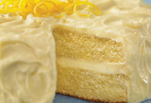 Sunny Lemon Cake Recipe
