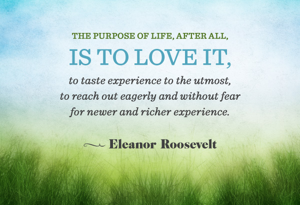 Famous Quotations By Eleanor: Famous Quotes About Purpose. QuotesGram