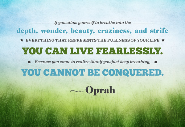 oprah quotes about life